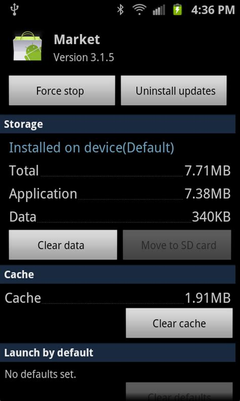 android clear cache android 201 how and when to clear app cache or data android central