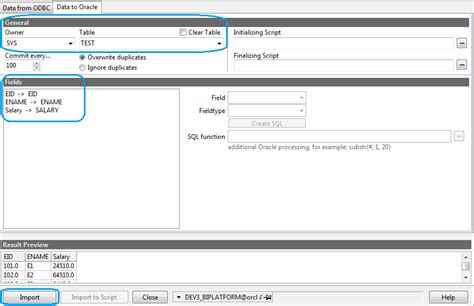 Delete From Table Oracle by Journey With Obiee Import Data From Excel To Oracle Table