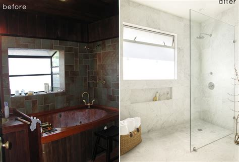 bathroom makeover before and after before and after small bathroom makeovers big on style