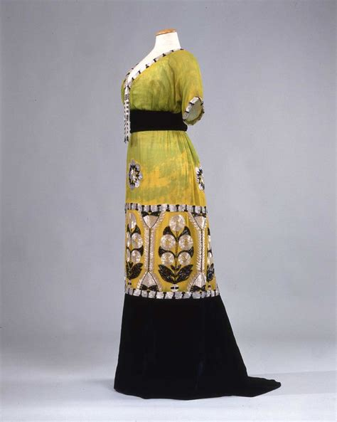Beaded Style Dress Yellowblack 27870 17 best images about historical fashion on day dresses jeanne lanvin and silk satin