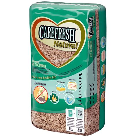 carefresh bedding carefresh natural pet bedding 14 liter