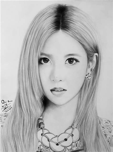 Kpop Drawing by Drawing Korea By Ogawayui On Deviantart