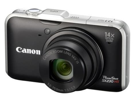 canon intros powershot sx230 hs camera – gps with 1080p hd