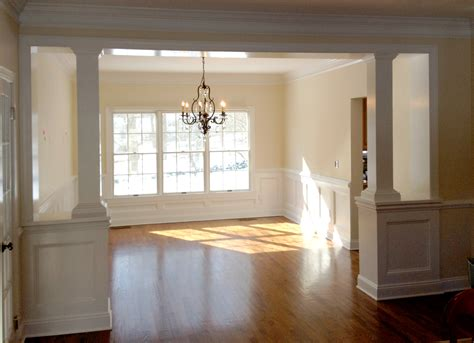 Define Wainscotting by Custom Wainscoting Defines The Space Stuart Home