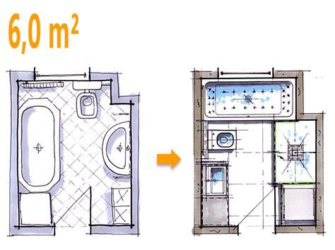 Kleines Bad Quadratmeter by Badplanung Beispiel 6 Qm Komfortables Wellnessbad Mit