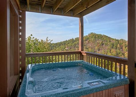 Evening View Cabin by Sevierville Cabin Rental Evening View 133 1 Bedroom