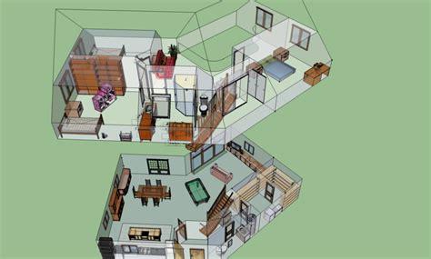 home design 3d 2 etage plan de la maison 3d sketchupis 233