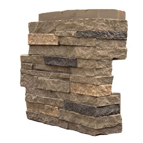 nextstone stacked volcanic gray 4 25 in x 13 75 in