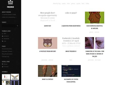 themes tumblr best 20 best tumblr themes handpicked designbeep