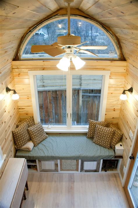 tiny house seating craftsman tiny house for sale