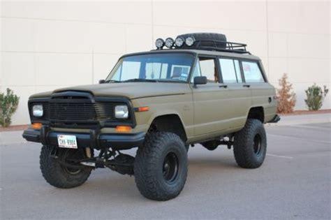 jeep grand wagoneer custom sell used jeep grand wagoneer 4x4 1984 custom in el paso