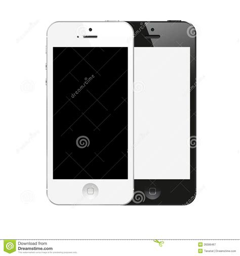 Iphone Z Black New Iphone 5 Black And White Color From Apple Editorial Photography Image 26586467