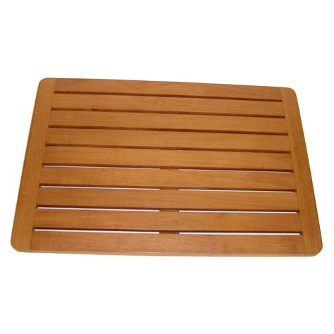 Spa Mat by Aqua Teak Spa Teak Bath And Shower Mat Reviews Wayfair