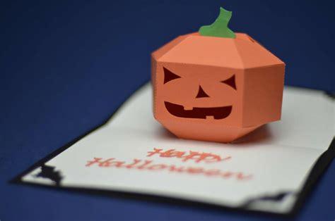 3d pumpkin card template pdf pop up card 3d pumpkin tutorial creative pop
