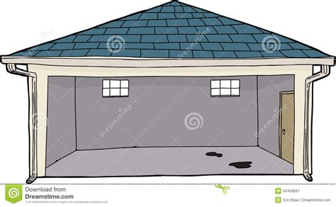 garage cartoon empty cartoon garage stock illustration image 50459061