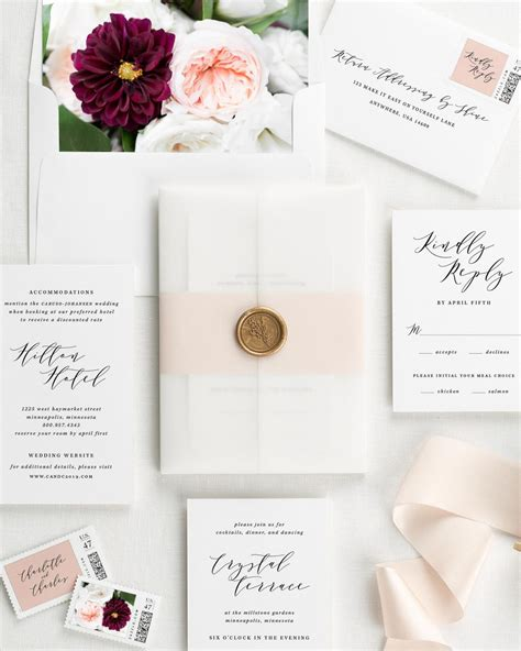 Wax Sts For Wedding Invitations