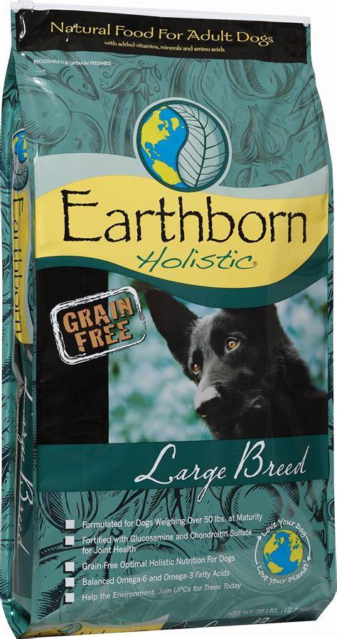 earthborn puppy food earthborn holistic grain free large breed food 28 lb bag chewy