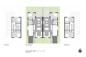 semi detached floor plans 2 bedroomed semi detached house plans house plans