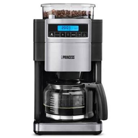 Coffee Maker Princess princess 249402 coffee maker and grinder deluxe real