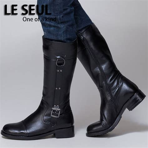 long motorcycle boots long mens boots yu boots