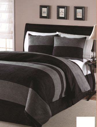 manly bed sets black and grey masculine bedding home decor pinterest