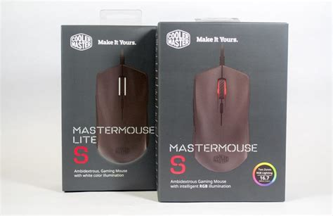 Cooler Master Gaming Mouse Mastermouse Lite S cooler master mastermouse s gaming mouse review play3r