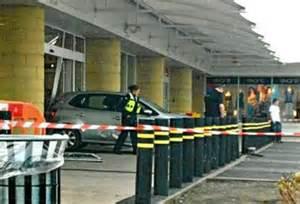Bentley Bridge Argos Car Reverses Into Shop Window After Crash