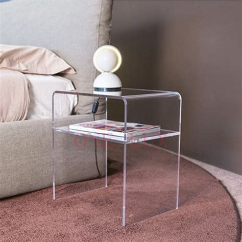 nachttisch plexiglas popular lucite bedside table buy cheap lucite bedside