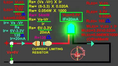what resistor to use with led 6v led 6v circuit calculation how to calculate led series resistor watts volt s resistance