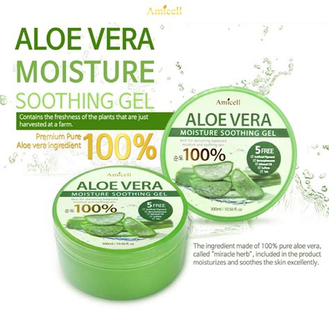 Nature Republic Soothing Moisture Aloe Vera 92 Lazada aloe vera moisture soothing gel 3 bottle lazada malaysia