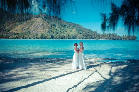 Moorea Private Beach Wedding   Legal Same *** Marriage