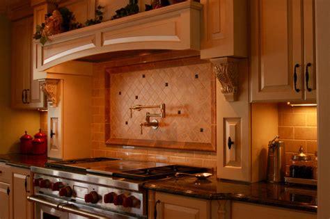 Kitchen Backsplash Tiles For Sale 48 wolf gas range with hood mantle and back splash with