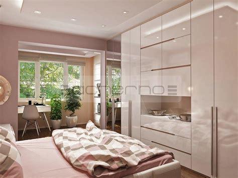 acherno modernes wohnung design in frischen farben - Raumgestaltung Schlafzimmer
