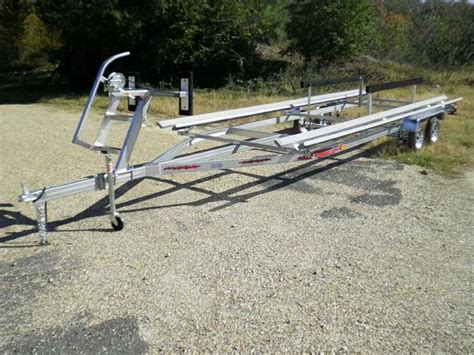 used heavy duty boat trailers for sale boat trailer new galvanized heavy duty pontoon trailers