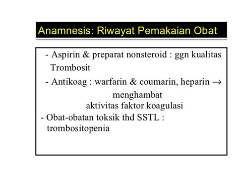 Obat Warfarin hemostasis uii