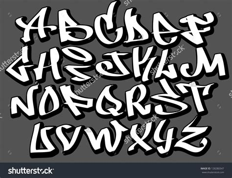 street fonts graffiti alphabets stock vector graffiti font alphabet letters hip hop type grafitti design 128280347 jpg 1500