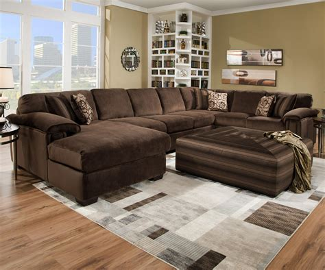 sectional with oversized ottoman furniture comfy design of oversized couch for charming