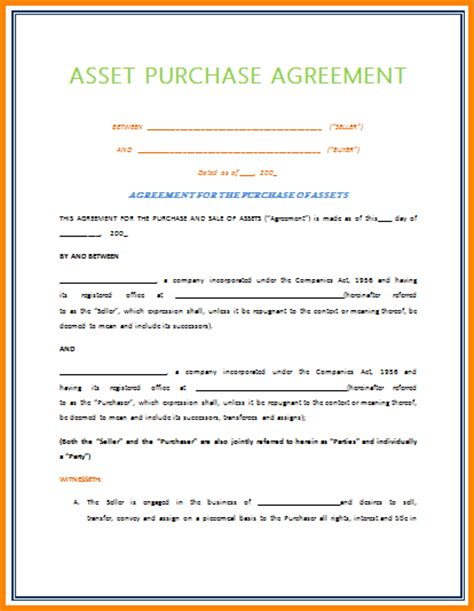 simple business purchase agreement pictures to pin on