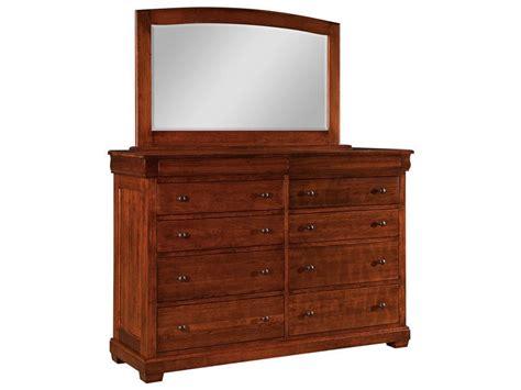 10 drawer dresser with mirror amish marshfield 10 drawer dresser and mirror