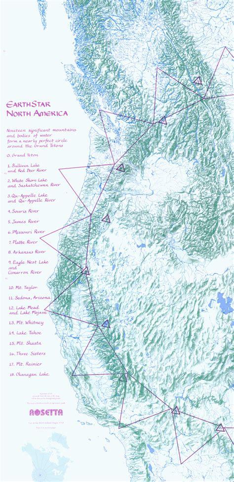 american vortex map western america ley lines map