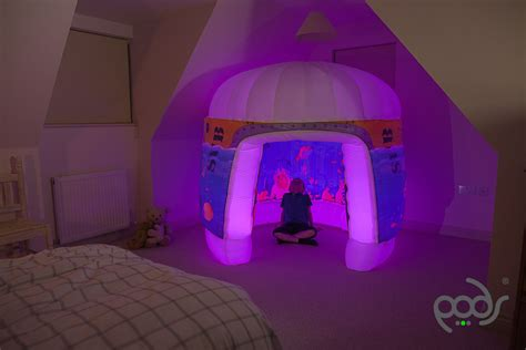 bed tent with light pods products sub aqua play tent pink lights