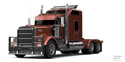 Custom Truck Sleeper Cabs by 3dtuning Of Kenworth W900 Sleeper Cab Truck 2014 3dtuning Unique On Line Car Configurator