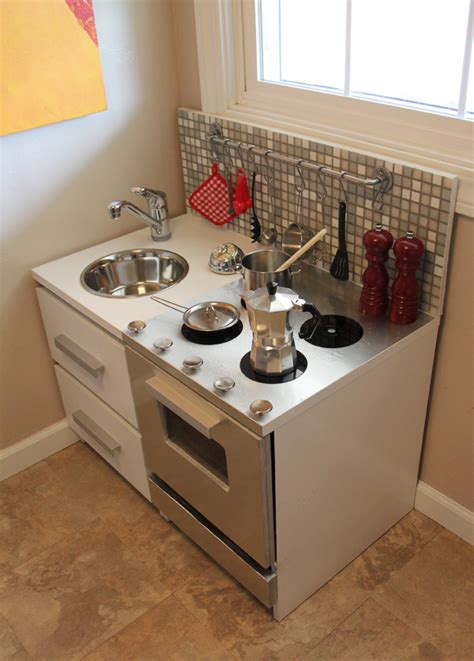 modern play kitchen 25 diy play kitchen ideas apt and appropriate for your