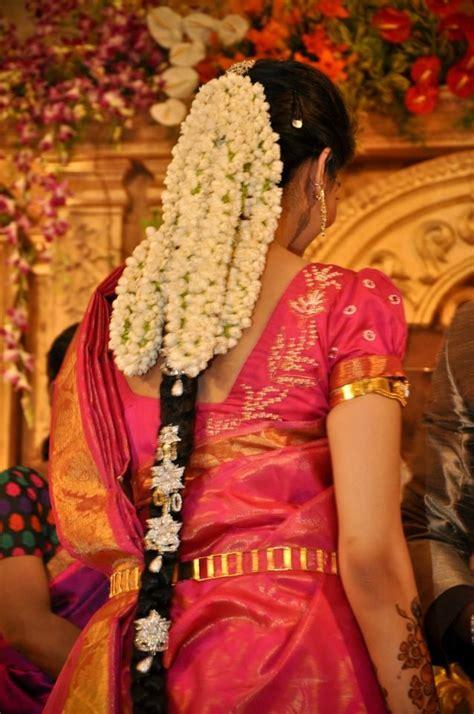 wedding hairstyles  floral jewellery