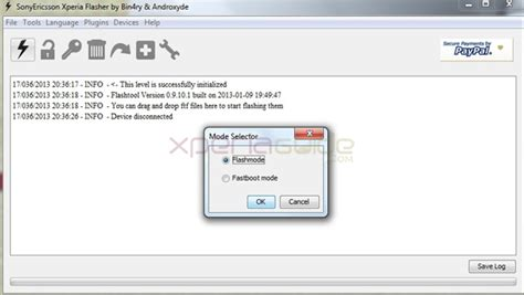 mount your ftf file here for xperia firmware nicklas updating xperia firmware ftf via flashtool gizmo bolt