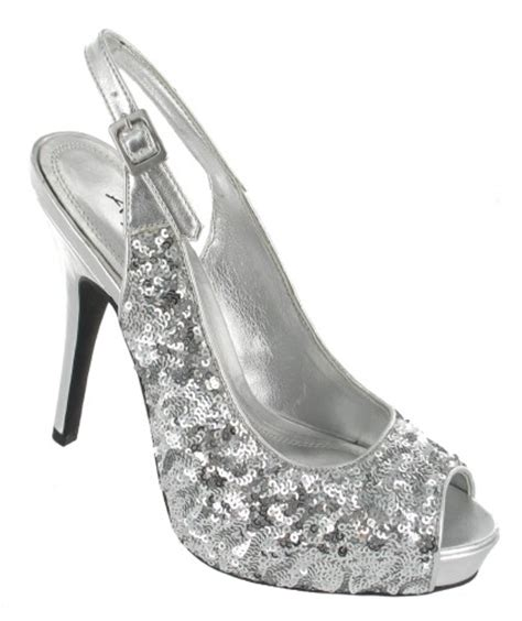 l2221 silver prom bridesmaid shoes the