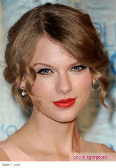 heavy formal hair styles 17 best images about taylor swift heavy makeup on