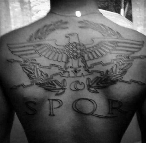 spqr tattoo meaning 40 spqr designs for senātus populusque