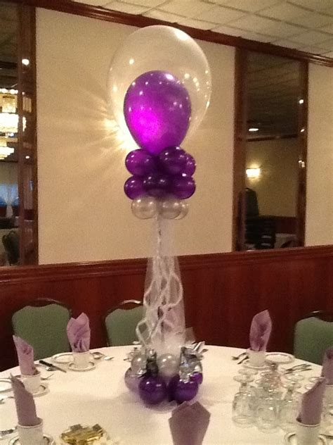 a balloon creation inc sweet 16 centerpiece