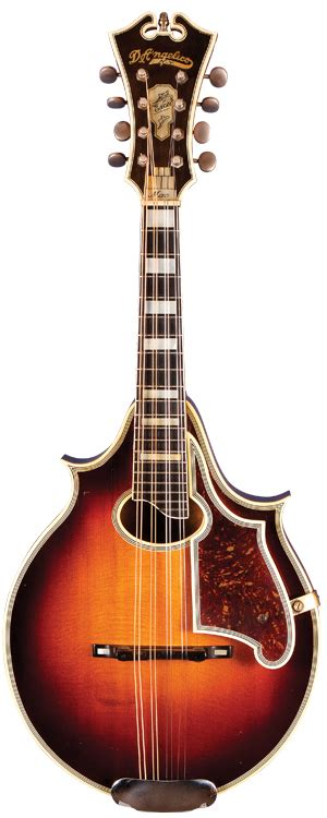 Mandolin Giveaway - the d angelico excel mandolin vintage guitar 174 magazine
